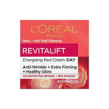 L'Oreal Revital Red Ginsen Glow Day Cream 50ml