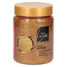 Bioluxe Gold Scrub 500ml