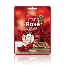 Seplaya Toning Rose Mask Sheet 25ml