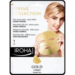 Iroha Foil Tissue Mask Gold Divine 1set