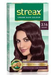Streax Hair Color-Burgundy 3.16 1pc
