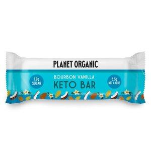 Planet Organic Bourbon Vanilla Keto Bar