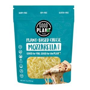Good Planet Vegan Mozarella Cheese Shreds Plant Based