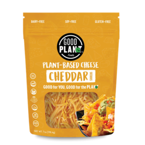 Good Planet Vegan Cheddar Cheese Plant Based
