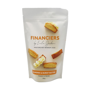 Emelia Almond & Burnt Butter Financier Mix 180g