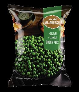 Al Areesh Green Peas 3x450g