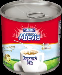 Abevia Evaporated Milk 6x170g