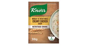 Knorr Wheat Creamy Chicken Soup 98g