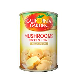 California Garden Mushrooms Pieces And Stems 3x425g