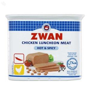 Zwan Luncheon Meat Chicken Hot & Spicy 3x200g