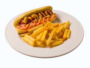 Olio's American Beef Hotdog 1pc