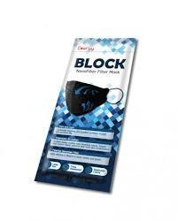 Everyy Face Mask Nanofiber Filter Black 1pack