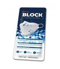 Everyy Face Mask Nanofiber Filter White 1pack