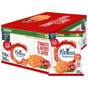 Fitness Toasties Tomato Herbs 14x36g