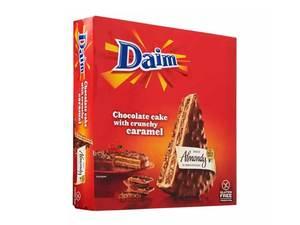 Daim Almond Cake Chocolate And Crunch 400g