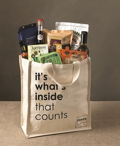 It'S What'S Inside That Counts Bag For Life Canvas Bag 1pc
