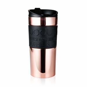BODUM Travel Mug Stainless Steel Flip Copper 0.35L