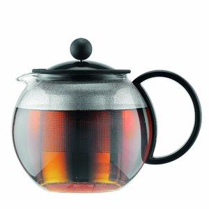 BODUM Assam Tea Press Stainless Steel Filter Black 0.5L