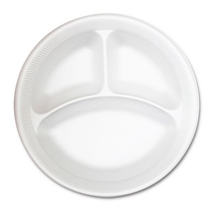 "Westzone Foam Plate 9"""