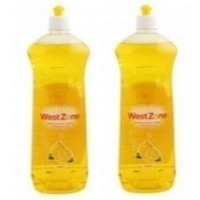Westzone Lemon Dishwash Liquid 2x500ml