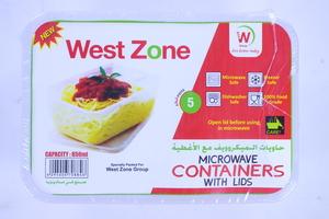Westzone Rectangular Container 650ml