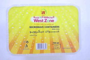 Westzone Rectangular Container 750ml