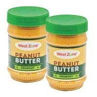 Westzone Crunchy Peanut Butter 2x510g