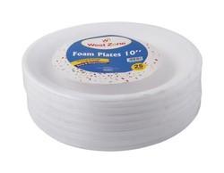 "Westzone Foam Plate 10"""