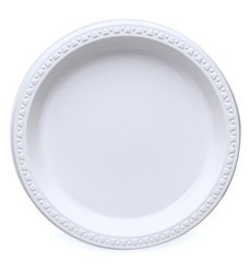 """Yash Foam Plate White 25pcs - 9"""""""