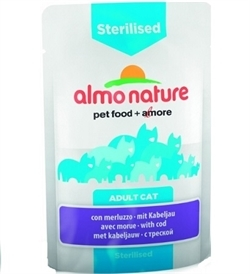 Almo Nature Functional Sterilised With Cod 70g