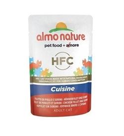 Almo Nature Rouge Label Chicken Fillet & Surimi 55g