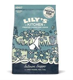 Lily's Kitchen Salmon Supper Adult Dog Dry Food 1kg