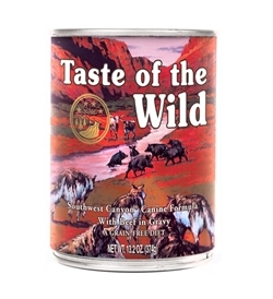 Taste of the Wild Southwest Canyon Canine With Beef in Gravy 390g
