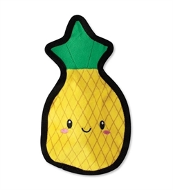 PetShop by Fringe Studio Happy Pineapple Durable Plush Dog Toy 1pc