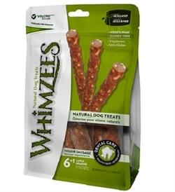 Whimzees Veggie Sausage Large 6+1 pcs