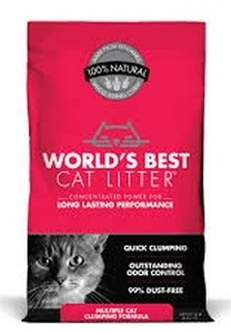 World's Best Cat Litter Multiple Cat Lavender Scented 3.63kg