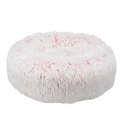 Trixie Harvey Round Bed White & Pink 1pc