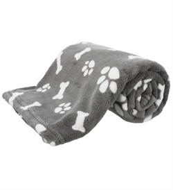 Trixie Kenny Plush Blanket Grey 1pc