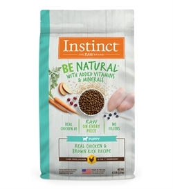 Instinct Be Natural Kibble Puppy Chicken & Brown Rice 1pc
