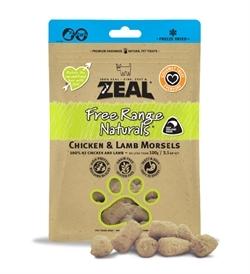 Zeal Free Range Naturals Chicken and Lamb Morsels 100g
