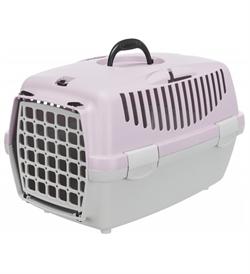 Trixie Capri 1 Transport Box Light Grey & Light Lilac Extra Small 1pc