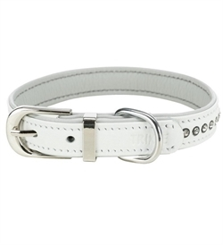 Trixie Active Comfort Collar With Rhine Stones White Small 1pc