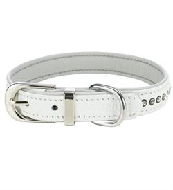 Trixie Active Comfort Collar With Rhine Stones White Medium 1pc