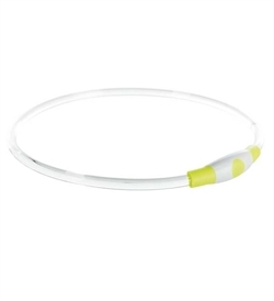 Trixie Flash Light Ring USB Green L-XL 1pc