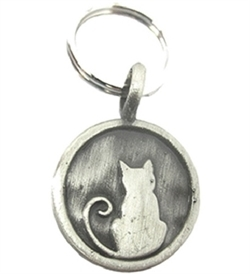 Dazzler Charms Cat Pewter 1pc