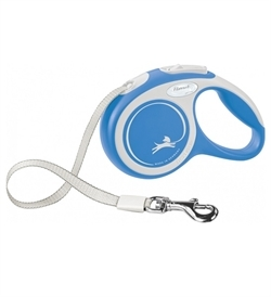 Flexi New Comfort Tape Leash Blue Extra Small 1pc