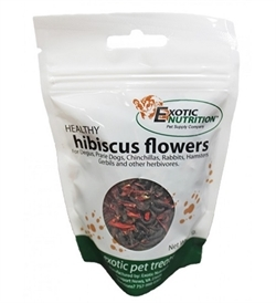 Exotic Nutrition Healthy Hibiscus Flowers 26g