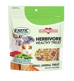 Exotic Nutrition Herbivore Healthy Treat 3oz