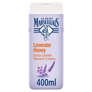 Le Petit Marseillais Body Wash Lavender Honey Extra Gentle Shower Cream 400ml