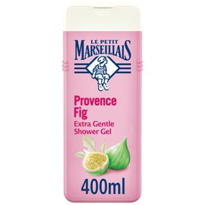 Le Petit Marseillais Body Wash Provence Fig Extra Gentle Shower Gel 400ml